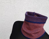 Neck Warmer Merino Wool Headband Turtle Neck Loop Scarf Two-sided Woolen Neckwear Escharpe en Laine Merino Colar