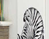 Zebra Original Painting, ...