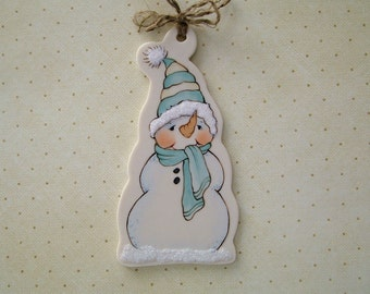 Mr. Snow Ornament