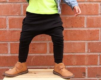Baby Girl Baby Boy Black Harem Pants: Etsy kid's fashion, toddler boy, toddler girl