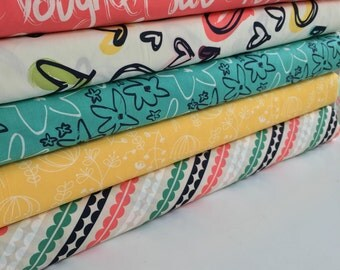 Happy Home Bundle, 5 Half Yard Pieces, Art Gallery - 2 1/2 Yards Total