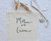 Mother of the Groom Wedding Tote Mom Gift