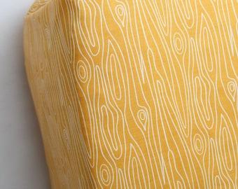 Orange Wood Grain Fitted Sheet, Pad Cover, Mini Crib Sheet  - Ready to Ship