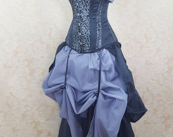 """Privateer Pirate Overbust Corset-to fit 24-26"""" natural waist"""