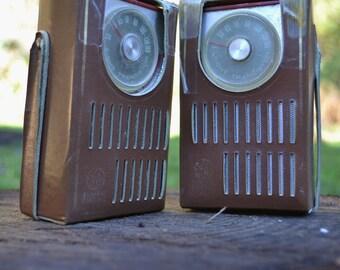 Pair of General Electric Transistors, Model 2603