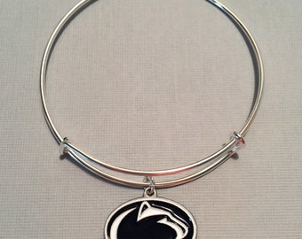 Penn State: Adjustable bangle bracelet