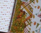Midori/Travelers Notebook Shaker Dashhboard Fall