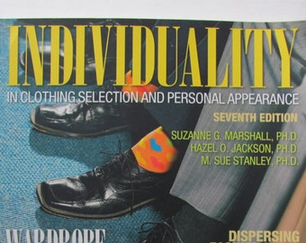 Individuality in Clothing Selection 7th edition, Marshall, Fashion Textbook, Psychology of Dress, Sociology of Apparel