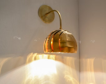 Wall Lamp: Iris Sconce, Brass - On Sale 30% off