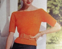 Vogue Knitting Book No. 46 - Vintage Knitting Patterns 1950s Women's Sweaters Jumpers Blouses Dresses Jackets Suits 50s original patterns