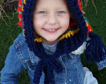 Bohemian Pixie Stocking hat-cap