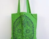 DEAD 2 Eco-Friendly Market Tote Bag - Hand Screen printed (Ships FREE!)