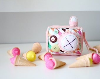 Ice Cream Shoppe Plush Camera