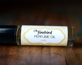 Cake Perfume Oil - Sugared Vanilla, Lemon Zest, Almond Extract - Vanilla Perfume, Bakery Perfume, Sweet Perfume