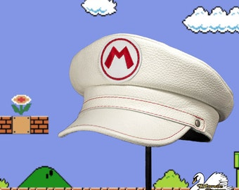 Fire Mario Inspired Plumber Cap