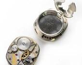 Antique Gruen Watch Steampunk Cuff Button Covers