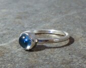 Rings, Swiss BlueTopaz Ring, Stack Ring, Blue Topaz, Ready to Ship