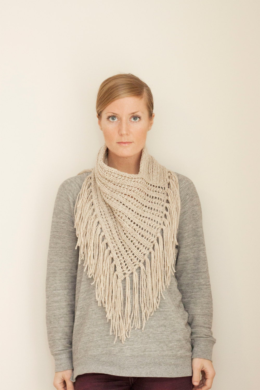 Free Knitting Pattern For Eyelet Cowl : KNITTING PATTERN // Arika Cowl // eyelet rib bandana style