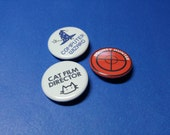 Silly Job Title Pinback Button (or Magnet)
