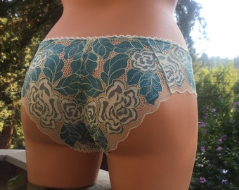 Something Blue French lace Pantie FREE SHIPPING!!