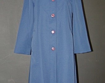 Vintage Navy Coat, Union made, 1970s