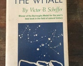 The Year of the Whale by Victor Scheffer, vintage nature book, vintage paperback 1969, natural history, free shipping