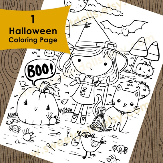 Halloween JackoLantern Themed Coloring Pages