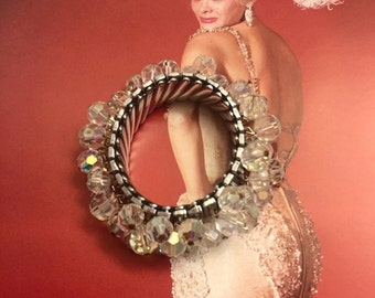 Sale Vintage Cha Cha Expansion Bracelet -- Glamorous