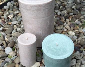 Zodiac Scented Medium Pillar Candles