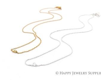 "5pcs 17"" Nickel Free - High Quality Brass Chain Necklace (W169)"