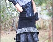 Top - Tunic - Steampunk - Bohemian - Gypsy Fashion - Victorian - Goth - Sexy - Boho Fashion - Playa Wear - Burning Man - Size Small