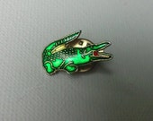 Vintage collectable Lacoste Crocodile Lapel Pin
