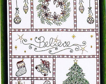 All that Glitters Stitchery Pattern
