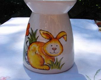 Silly Rabbit!! Ceramic Tea Light Tart Burner