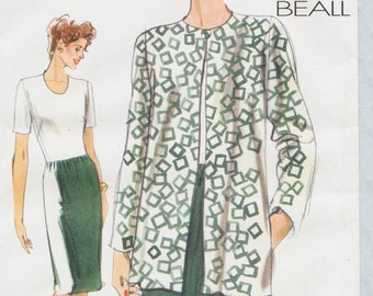 Very Easy Vogue 9897 / Out Of Print Sewing Pattern By Koko Beall / Jacket Dress Suit / Sizes 20 22 24