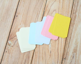 50pc PASTEL Colours Eco Series Business Card Blanks