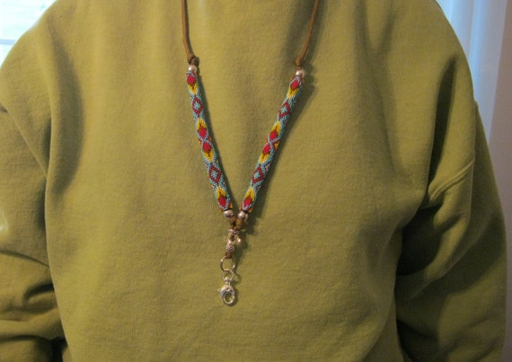 Native American Beaded Lanyard Instructions