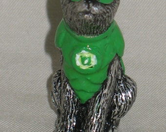 Green Lantern Cat Miniature
