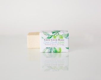 Sea Salt Lime Soap - 4 Bar Collection