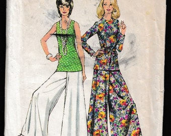 Vintage Sewing Patterns Two Simplicity and One Butterick Simplicity 5690 and 5144 ,Butterick 3281  Simplicity 5690