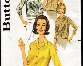 Butterick 2683 Misses Over-Blouse
