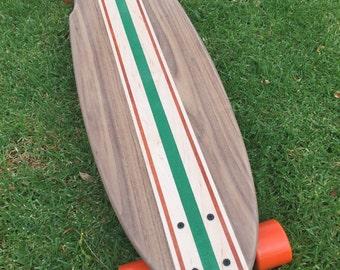"Custom Wood Longboard ""Big SM"""