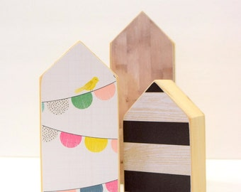 Wood House, Room Decor, Little Houses, Decor, Decoration, Kids Room, Design, Unique, Paper Houses, Custom, Nursery, Simple, minimalist