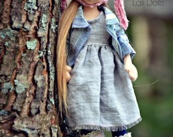 PDF Pattern - Rosy Posy Doll