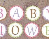 Dreams Shower Banner, Baby Shower or Birthday Banner, Printed and assembled, Rabbit Baby Shower, Sheep Banner