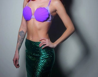 Mermaid Scale, Ariel Pencil Skirt, Mermaid tail Cosplay