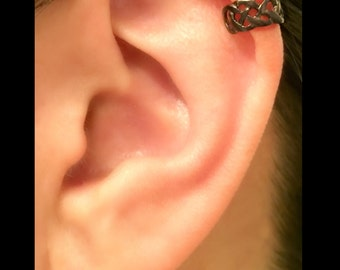 conch ear cuff busted wire hoop s ear cuff conch