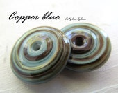 Rustic Organic HANDMADE LAMPWORK SRA Artisan Designer Beads Glass By Leese