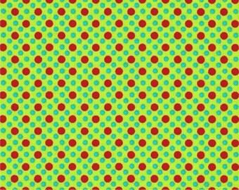 Santa Dim Dots - Michael Miller Fabrics