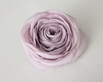 Magenta rose flower, bridal hair clip, wedding hair accessories, bridal hairpiece